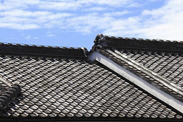瓦屋根について
